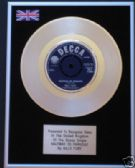 "BILLY FURY - 7"" Platinum Disc - HALFWAY TO PARADISE"